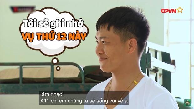 Phản ứng siêu cute của Mũi trưởng Việt Long khi bị Hậu Hoàng cho vào danh sách chị em, dân tình xúi yêu luôn đi! - Ảnh 1.