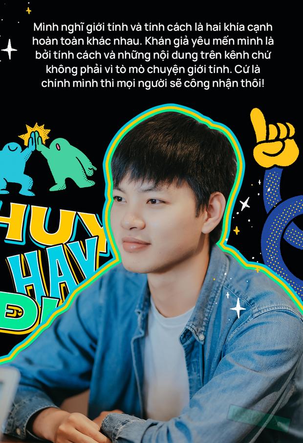 Huy Hay Đi - chàng travel blogger GenZ hot nhất hiện nay: Từng tổn thương vì những phán xét về chuyện giới tính, không ngại việc bị so sánh với đàn anh Khoai Lang Thang - Ảnh 8.
