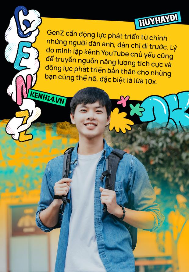 Huy Hay Đi - chàng travel blogger GenZ hot nhất hiện nay: Từng tổn thương vì những phán xét về chuyện giới tính, không ngại việc bị so sánh với đàn anh Khoai Lang Thang - Ảnh 14.