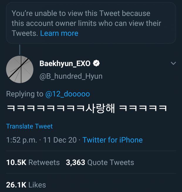 Biến căng: Baekhyun (EXO) gây sốc khi trả lời bình luận của netizen lăng mạ Chen, fandom phản ứng dữ dội vì đây không phải lần đầu - Ảnh 3.
