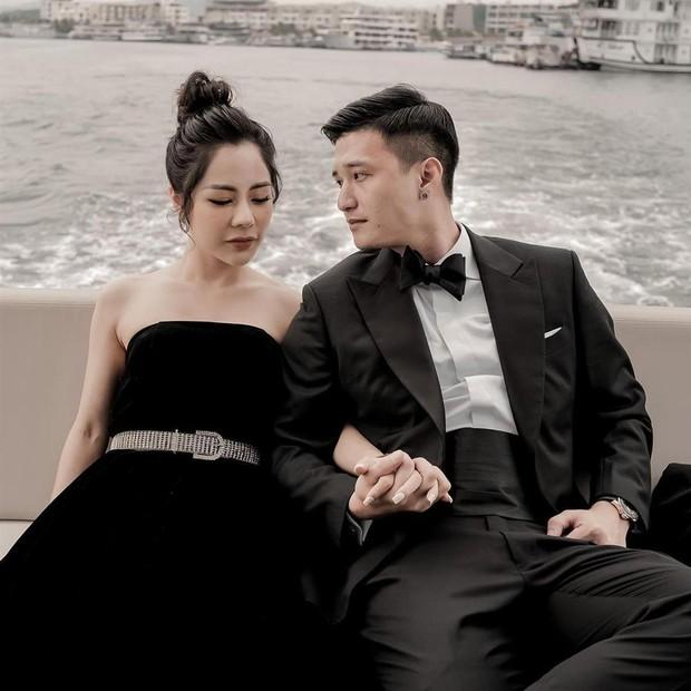 Huỳnh Anh và bạn gái single mom tình tứ trong sinh nhật Á hậu Huyền My, nàng công khai gọi chàng là chồng giữa nghi vấn sắp cưới - Ảnh 6.