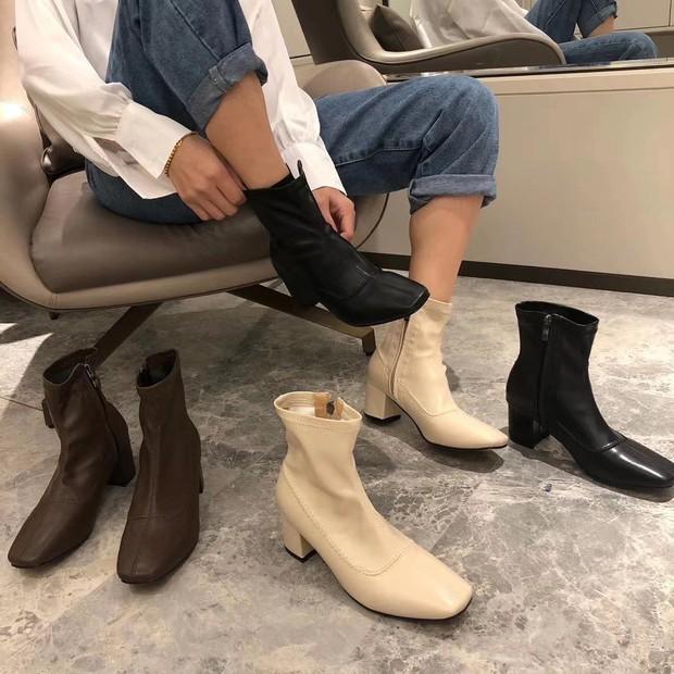 Một thủ thuật diện boots hack chân thon gọn, chị em mà không biết thì quá uổng - Ảnh 1.