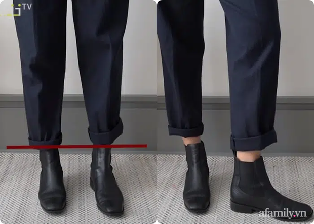Một thủ thuật diện boots hack chân thon gọn, chị em mà không biết thì quá uổng - Ảnh 3.