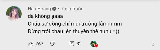 Phản ứng siêu cute của Mũi trưởng Việt Long khi bị Hậu Hoàng cho vào danh sách chị em, dân tình xúi yêu luôn đi! - Ảnh 5.
