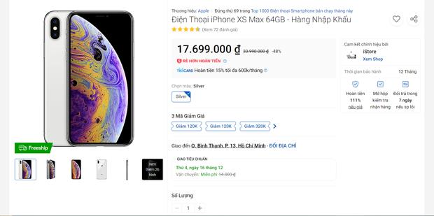 Siêu sale 12/12: Giá iPhone cũ từ đại lý đến các sàn thương mại điện tử chênh nhau thế nào? - Ảnh 6.