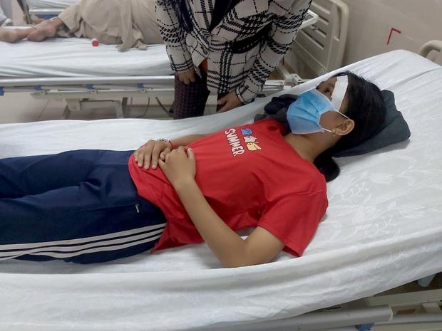 Thêm vụ nữ sinh lớp 7 bị nam thanh niên đánh nhập viện sau va chạm giao thông ở Tây Ninh - Ảnh 1.