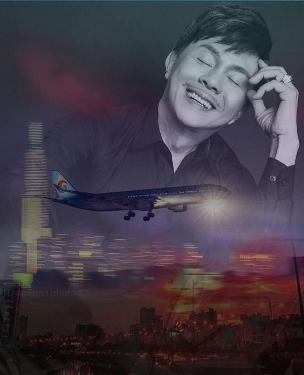 Hình ảnh chuyến bay không vé khứ hồi tiễn đưa cố nghệ sĩ Chí Tài từ Việt Nam sang Mỹ: Linh cữu sắp được đoàn tụ gia đình! - Ảnh 7.