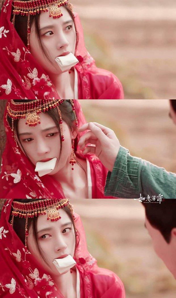 6 màn bắt cóc giả trân ở phim Trung: Cúc Tịnh Y ngậm giẻ chưa hú hồn bằng khẩu trang của Dương Mịch - Ảnh 1.
