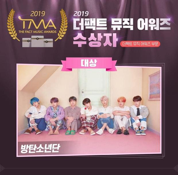 BTS gom hết Daesang của 1 lễ trao giải trong 3 năm liền, fan đề xuất: Đổi tên giải thành BTS luôn đi cho rồi! - Ảnh 4.