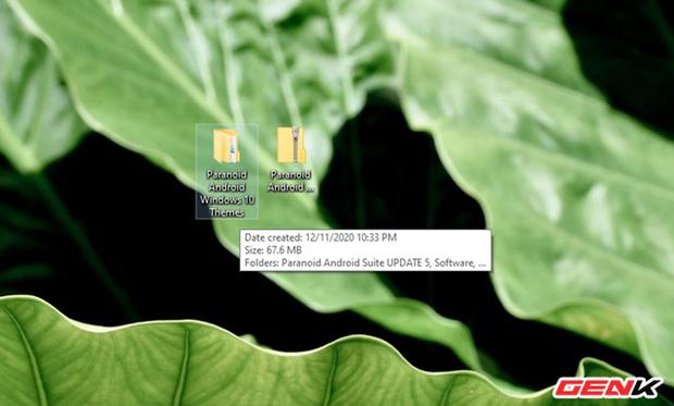 Biến hóa Windows 10 với bộ giao diện Paranoid Android độc đáo - Ảnh 5.
