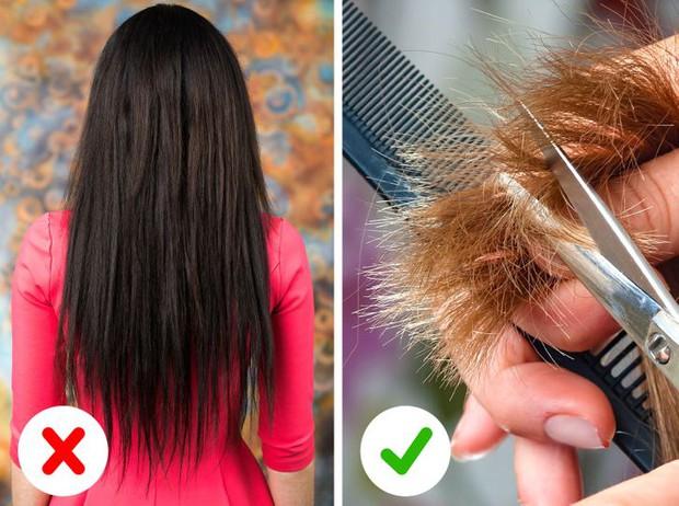 8 thói quen hàng ngày dễ khiến mái tóc ngày càng mỏng đi rõ rệt - Ảnh 5.