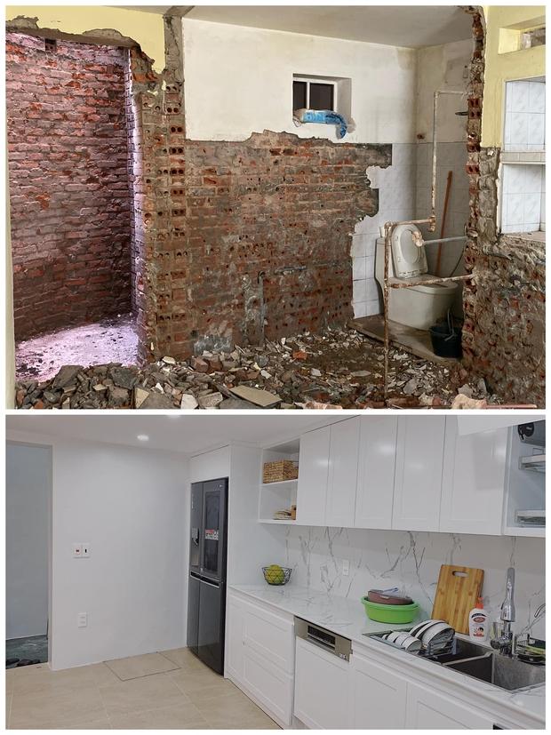 Tiết kiệm tiền mua căn nhà 94m2, vợ chồng trẻ cải tạo thành nơi ở cực chill, nhìn ảnh trước sau mà ngỡ ngàng - Ảnh 5.