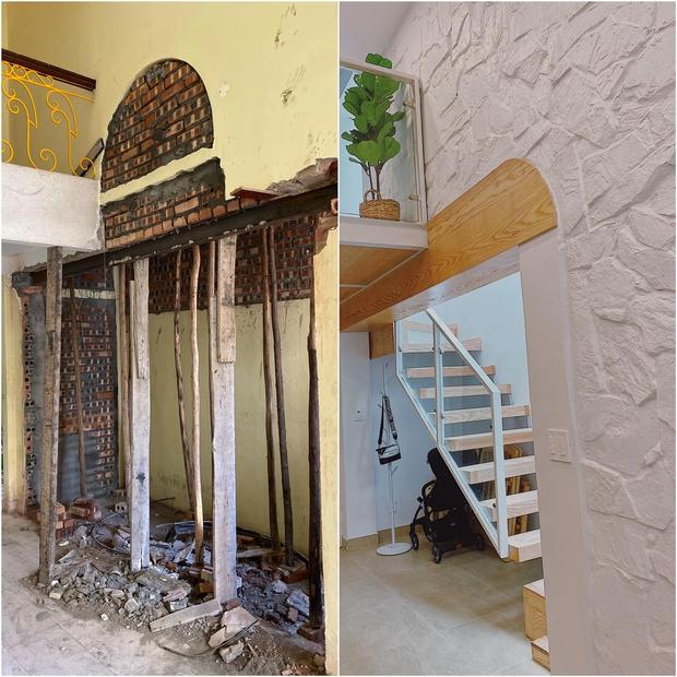 Tiết kiệm tiền mua căn nhà 94m2, vợ chồng trẻ cải tạo thành nơi ở cực chill, nhìn ảnh trước sau mà ngỡ ngàng - Ảnh 3.
