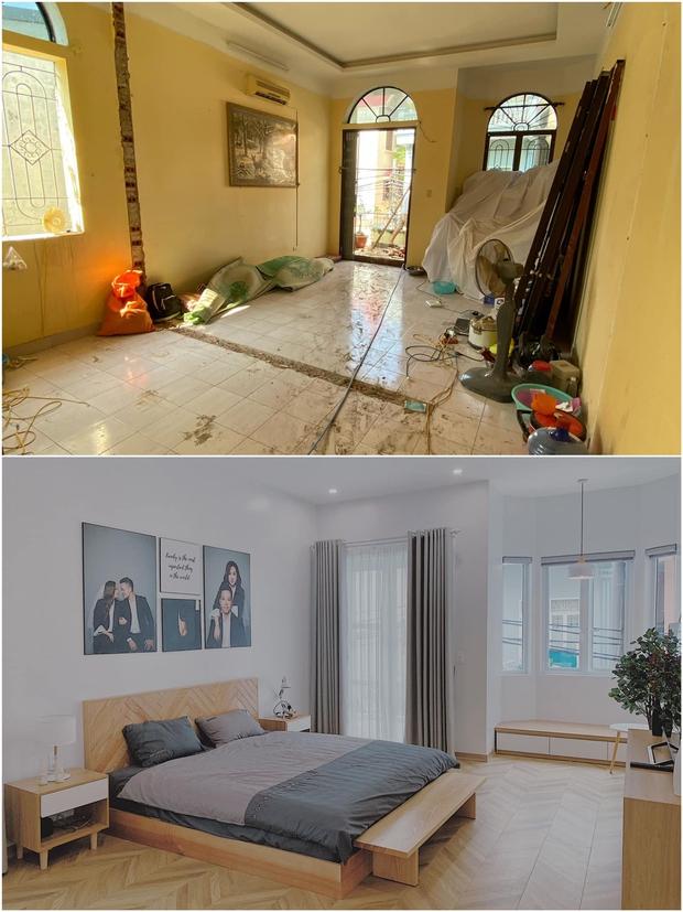 Tiết kiệm tiền mua căn nhà 94m2, vợ chồng trẻ cải tạo thành nơi ở cực chill, nhìn ảnh trước sau mà ngỡ ngàng - Ảnh 7.