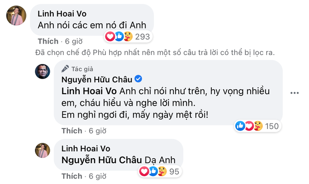 Dàn nghệ sĩ Vbiz quyết xử đẹp nam gymer, NS Hữu Châu lên tiếng dặn dò và phản ứng bất ngờ của NS Hoài Linh - Ảnh 3.