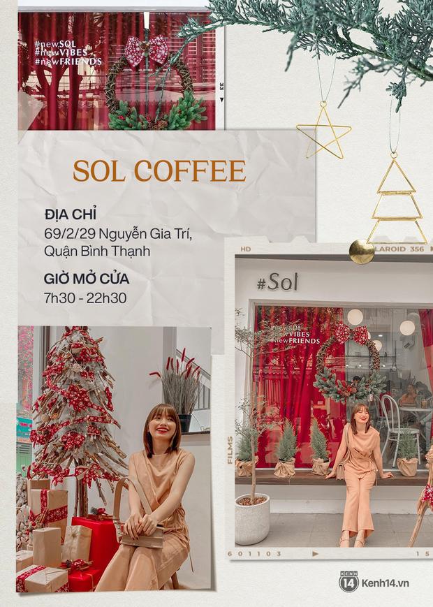 """10 quán cà phê trang trí Giáng sinh """"đẹp từng mi-li-met"""" ở Sài Gòn, ai chưa có hình sống ảo phải ghé ngay và luôn! - Ảnh 4."""