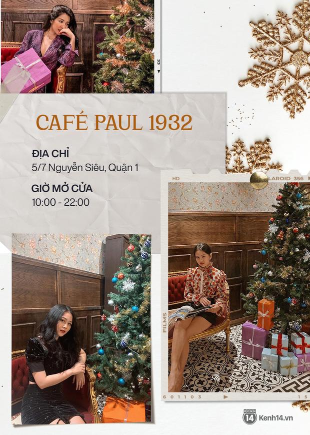 """10 quán cà phê trang trí Giáng sinh """"đẹp từng mi-li-met"""" ở Sài Gòn, ai chưa có hình sống ảo phải ghé ngay và luôn! - Ảnh 8."""