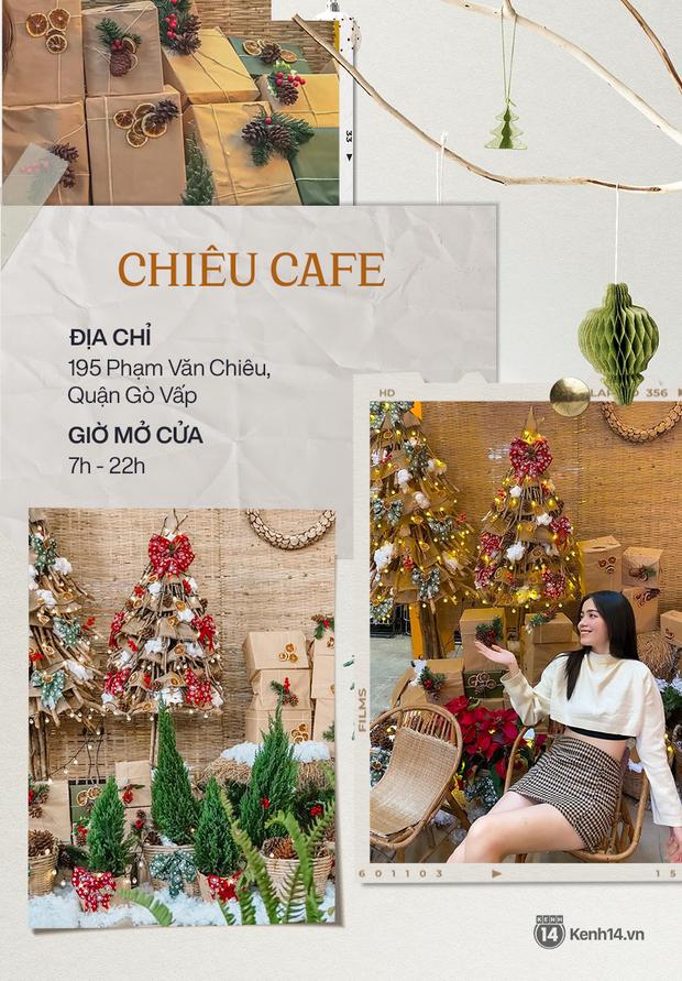 """10 quán cà phê trang trí Giáng sinh """"đẹp từng mi-li-met"""" ở Sài Gòn, ai chưa có hình sống ảo phải ghé ngay và luôn! - Ảnh 5."""