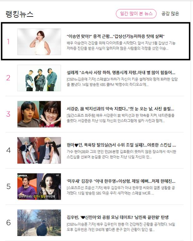 Hot nhất Naver: Á hậu xinh đẹp nhất lịch sử lộ body tăng cân đột ngột, lý do đằng sau khiến công chúng xót xa - Ảnh 3.