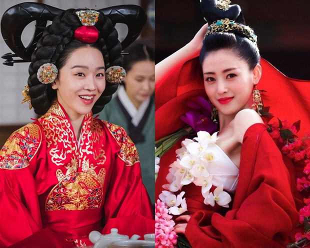 Netizen Trung chê nữ chính Mr. Queen kém sắc hơn Trương Thiên Ái, ai đó vừa quên Thái Tử Phi Thăng Chức Ký từng thảm họa ư? - Ảnh 4.