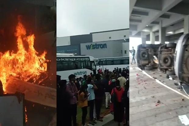 Bạo loạn bùng phát ở nhà máy sản xuất iPhone tại Ấn Độ - Ảnh 1.