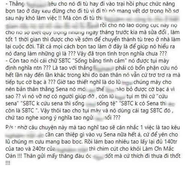 Bị fan cuồng Sena chỉ trích cạn tình cạn nghĩa vì không cho nam streamer duo cùng SBTC, Thầy giáo Ba bức xúc phản pháo - Ảnh 5.
