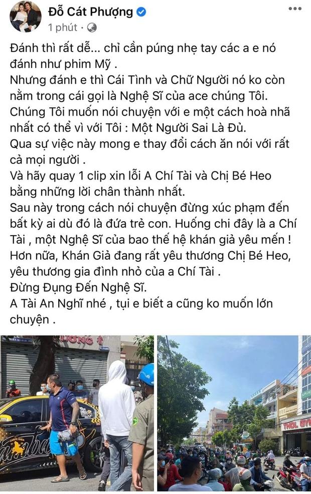 Dàn sao Vbiz đã đến gặp nam gymer xúc phạm NS Chí Tài, Cát Phượng - Huỳnh Phương hé lộ chi tiết buổi nói chuyện - Ảnh 13.