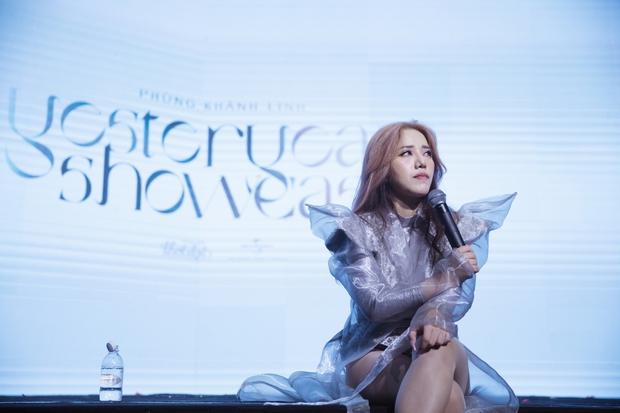 Khán giả xót xa khi Phùng Khánh Linh chia sẻ từng áp lực đến mức rạch tay trong phòng riêng, có ý định từ bỏ âm nhạc - Ảnh 2.