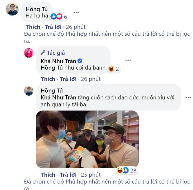 Đang đi quay, Khả Như, Duy Khánh, Misthy và dàn sao vẫn tranh thủ coi livestream vụ xử lý nam gymer lăng mạ NS Chí Tài - Ảnh 3.