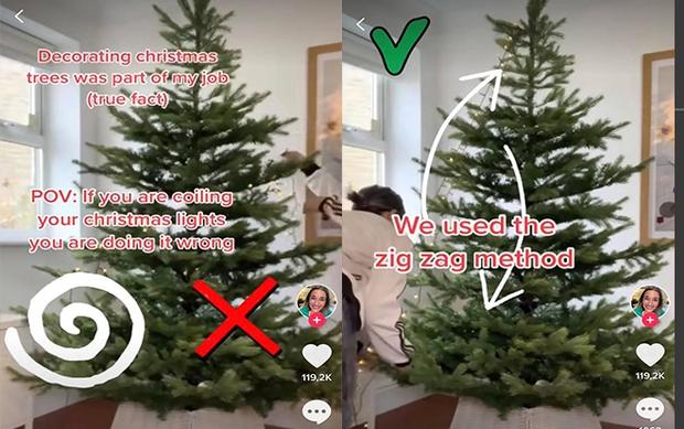 Video hướng dẫn trang trí cây thông Noel hút 2,4 triệu lượt xem, bất ngờ nhất chính là điều ai cũng quen nhưng lại gây tranh cãi dữ dội! - Ảnh 2.