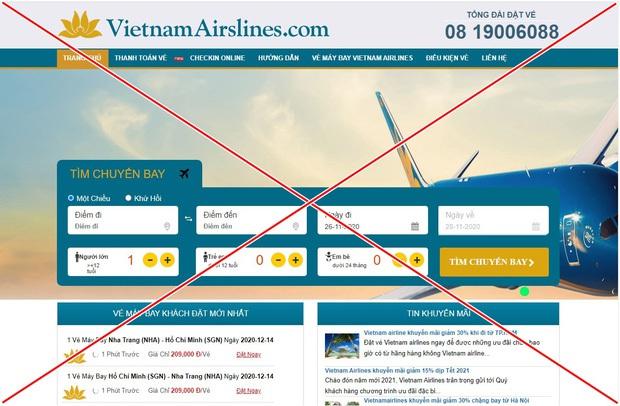 Hieupc ra tay, góp phần xoá sổ 2 trang web giả Vietnam Airlines và Vietjet Air lừa đảo bán vé máy bay! - Ảnh 1.