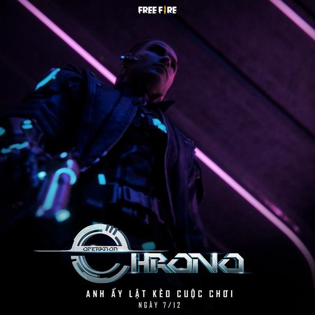 Dàn streamer Free Fire ngỡ ngàng trước bộ kỹ năng quá bá đạo của nhân vật mới - Chrono - Ảnh 1.