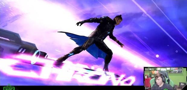 Dàn streamer Free Fire ngỡ ngàng trước bộ kỹ năng quá bá đạo của nhân vật mới - Chrono - Ảnh 3.