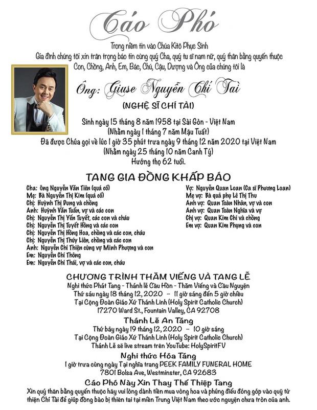 Ca sĩ Phương Loan cuối cùng đã được gặp ông xã Chí Tài, gia đình đến nhà quàn nhận linh cữu sau 3 ngày chờ đợi - Ảnh 4.