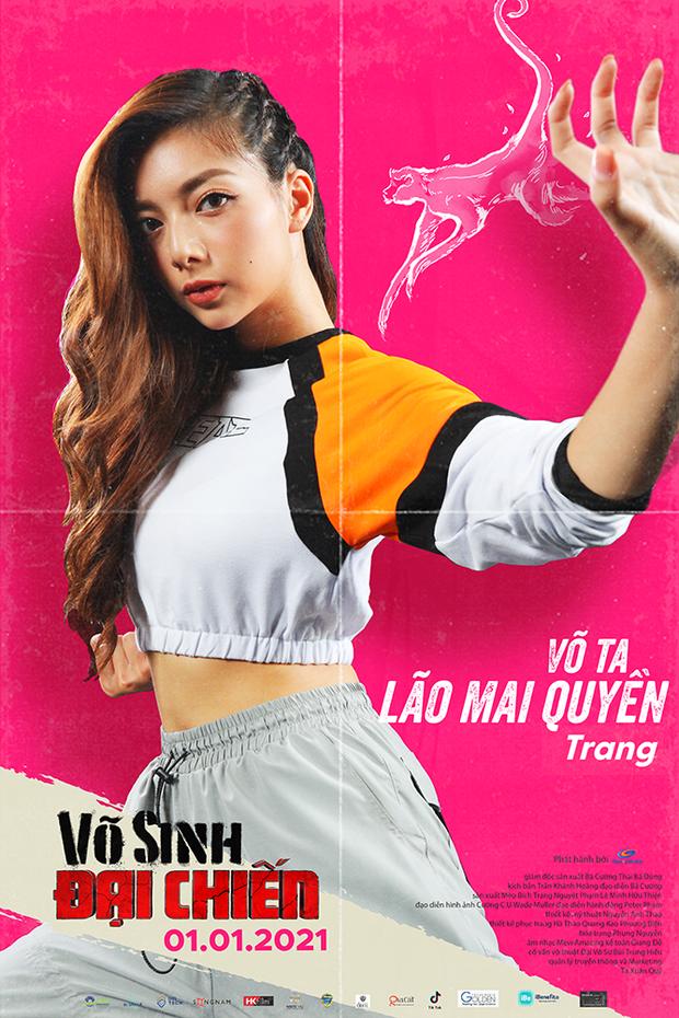 Duy Khánh đóng phim hành động nhưng mặt như tấu hài ở poster Võ Sinh Đại Chiến - Ảnh 2.