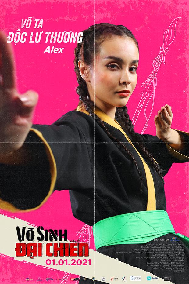 Duy Khánh đóng phim hành động nhưng mặt như tấu hài ở poster Võ Sinh Đại Chiến - Ảnh 4.