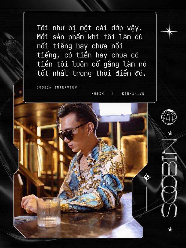 Soobin: Tôi hoàn toàn bị thuyết phục bởi Binz, ra nhạc dân chơi vì muốn thoải mái đi club hơn - Ảnh 8.