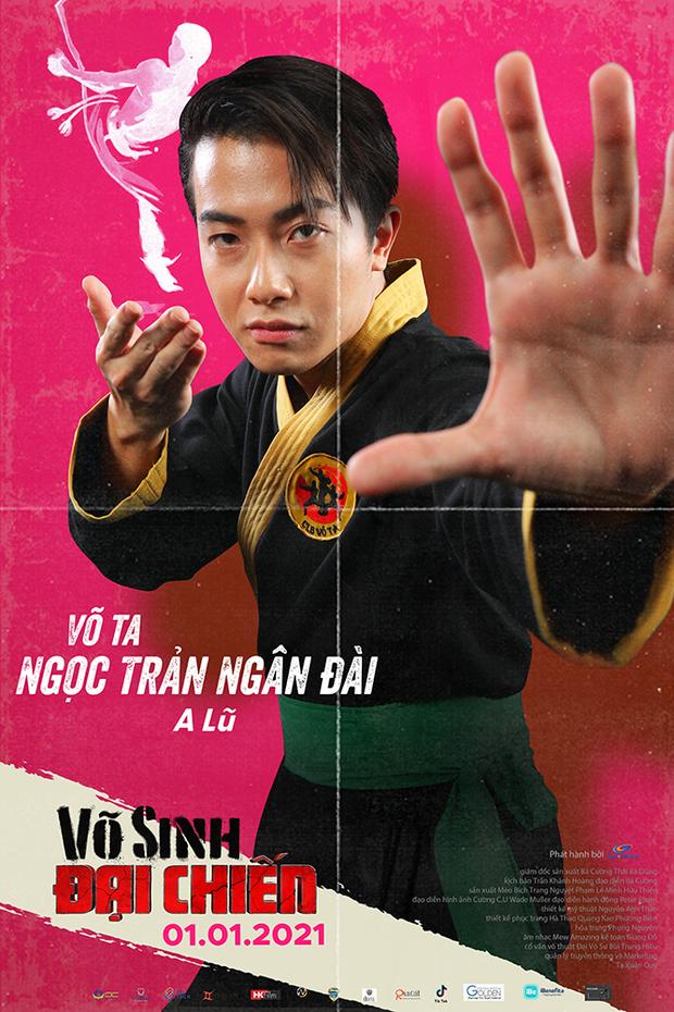 Duy Khánh đóng phim hành động nhưng mặt như tấu hài ở poster Võ Sinh Đại Chiến - Ảnh 5.