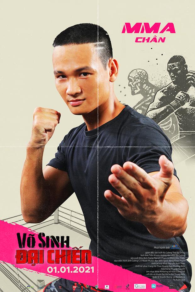 Duy Khánh đóng phim hành động nhưng mặt như tấu hài ở poster Võ Sinh Đại Chiến - Ảnh 6.