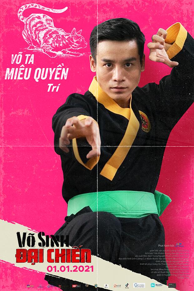 Duy Khánh đóng phim hành động nhưng mặt như tấu hài ở poster Võ Sinh Đại Chiến - Ảnh 9.