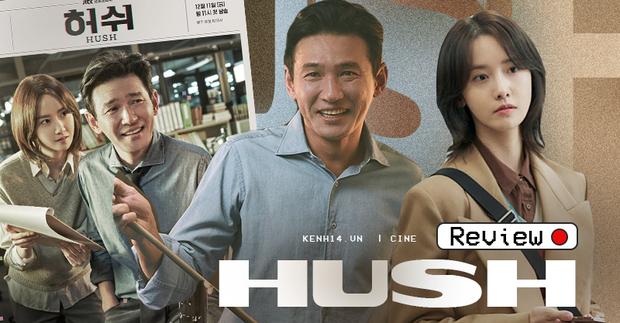 """Hush của Hwang Jung Min - Yoona bóc trần thấm thía nghề báo: """"Ngòi bút mạnh hơn súng, nhưng cơm mạnh hơn ngòi bút!"""" - Ảnh 1."""