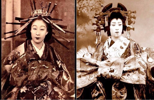 Oiran - kỹ nữ cao cấp thời Edo tại Nhật: Nhan sắc lộng lẫy, thu nhập tiền tỷ và những bí mật ít người biết - Ảnh 4.