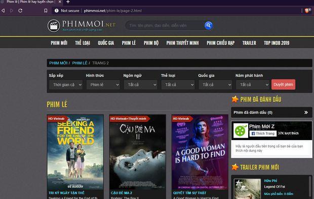 Sau khi Hieupc góp phần xóa sổ nhiều trang web lừa đảo bán vé máy bay, cư dân mạng bất ngờ gọi hồn phimmoi.net - Ảnh 2.