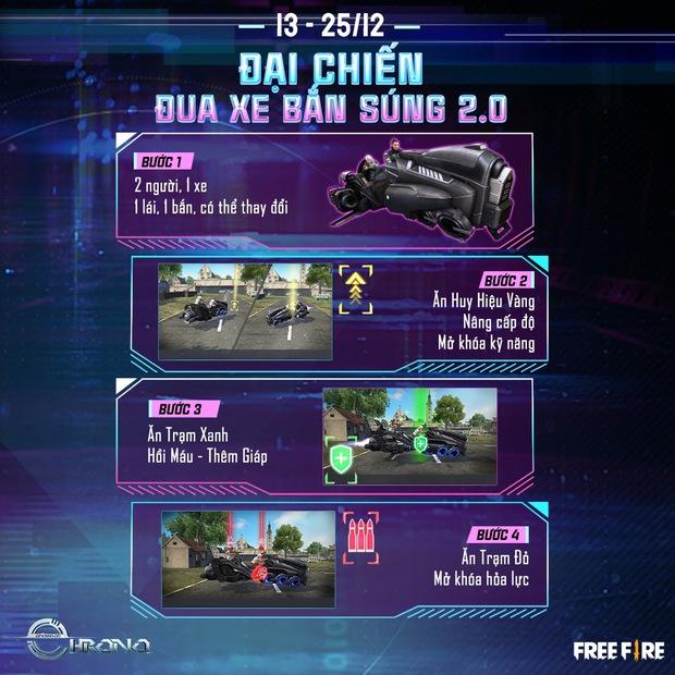 Free Fire: Hé lộ vũ trụ xoay quanh nhân vật Chrono, nguồn cảm hứng từ siêu sao CR7 - Ảnh 7.