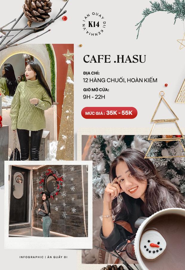 Loạt quán cafe khắp Hà Nội đang rần rần không khí Giáng sinh, còn chần chừ gì mà chưa check-in ngay và luôn! - Ảnh 10.