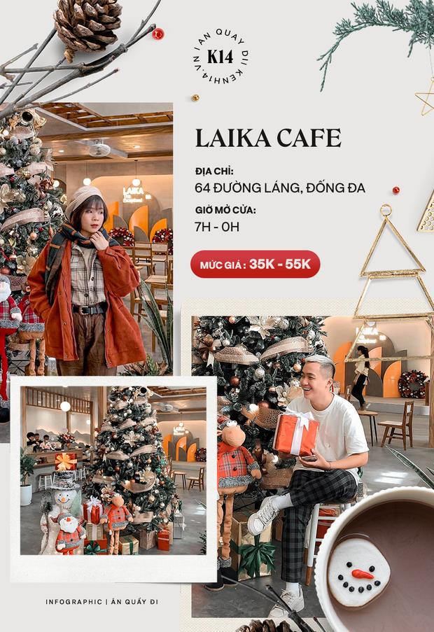 Loạt quán cafe khắp Hà Nội đang rần rần không khí Giáng sinh, còn chần chừ gì mà chưa check-in ngay và luôn! - Ảnh 2.