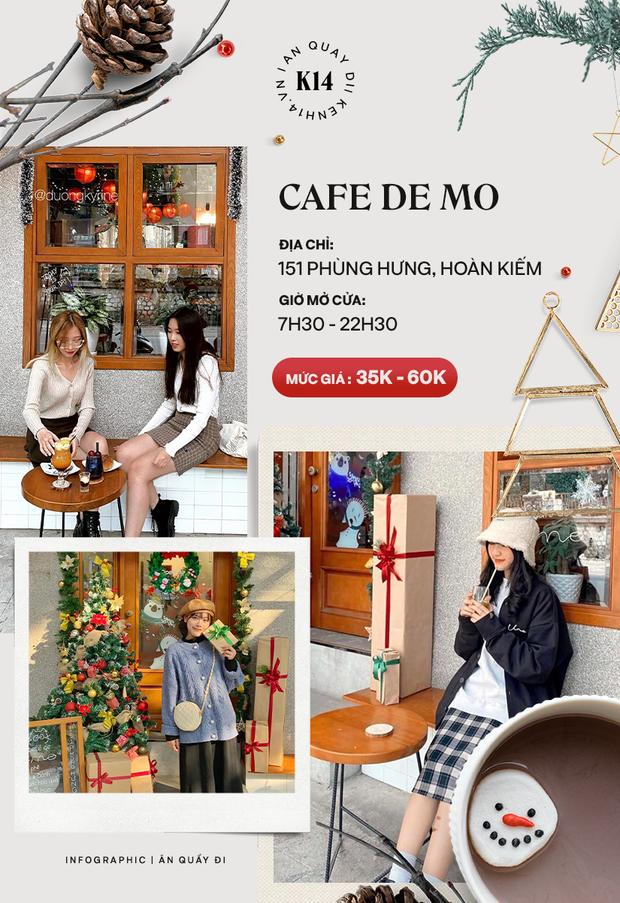 Loạt quán cafe khắp Hà Nội đang rần rần không khí Giáng sinh, còn chần chừ gì mà chưa check-in ngay và luôn! - Ảnh 4.