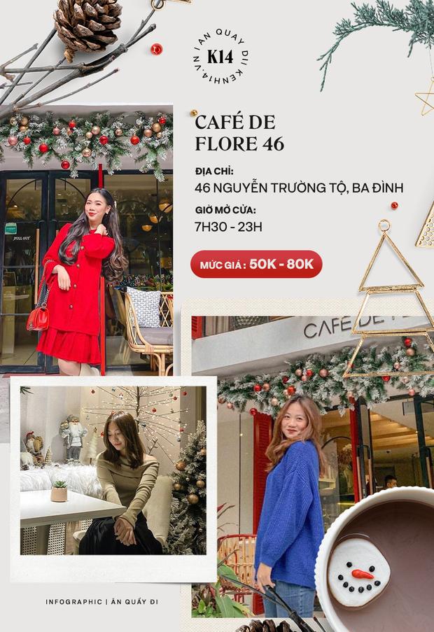 Loạt quán cafe khắp Hà Nội đang rần rần không khí Giáng sinh, còn chần chừ gì mà chưa check-in ngay và luôn! - Ảnh 7.