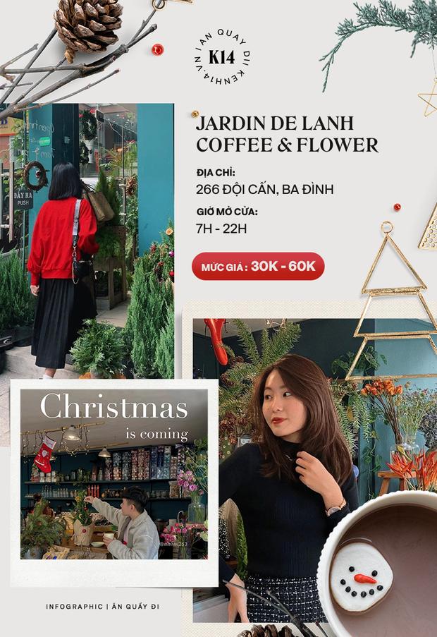 Loạt quán cafe khắp Hà Nội đang rần rần không khí Giáng sinh, còn chần chừ gì mà chưa check-in ngay và luôn! - Ảnh 8.