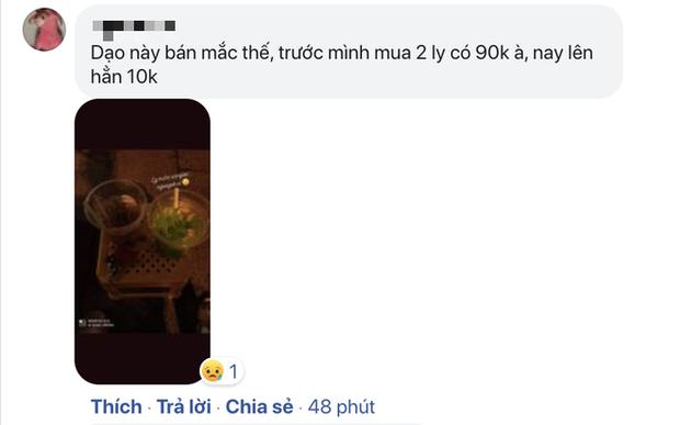 """Ra phố đi bộ Nguyễn Huệ uống 2 ly nước nhưng bị """"chém"""" tới 100k, cô gái tức tối bóc phốt: Bán kiểu này chắc mua nhà bên Mỹ luôn quá? - Ảnh 4."""